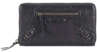 Balenciaga Classic Continental leather wallet