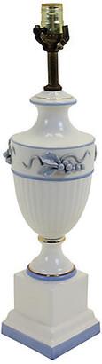 One Kings Lane Vintage Italian Floral Table Lamp - Vintage Bella Home