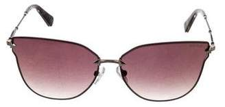 Balmain Mirrored Cat-Eye Sunglasses