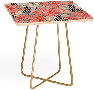 Deny Designs Marta B. Camarasa Abstract Side Table
