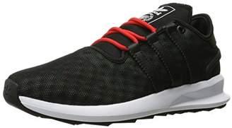 adidas Men's sl Rise Fashion Sneaker Black/Ice Green F16