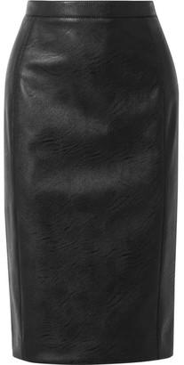 Stella McCartney Faux Leather Skirt - Black