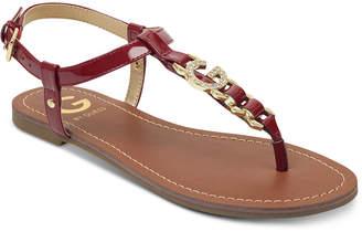 5490e112b G by Guess Lexann Flat Sandals Women Shoes
