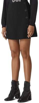 Whistles Crepe Mini Skirt