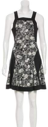 Thakoon Paneled Floral Print Dress
