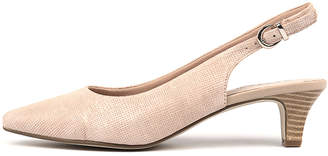 Supersoft Linden2 Blush Shoes Womens Shoes Casual Heeled Shoes