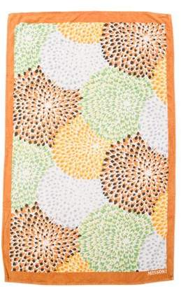 Missoni Floral Beach Towel