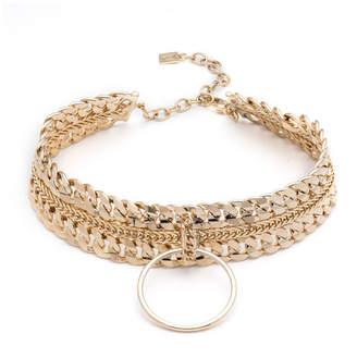 Dannijo Zig Chain Choker Necklace