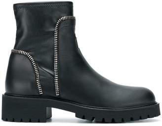 Giuseppe Zanotti Design zip-trimmed boots