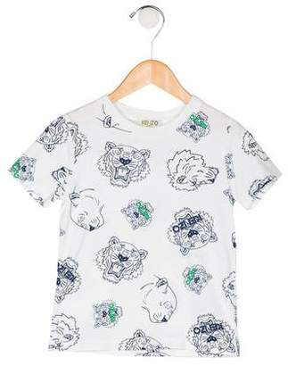 Kenzo Boys' Short Sleeve T-Shirt