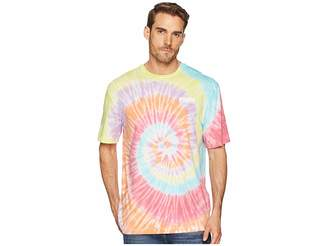 Puma Logo Tower Tie-Dye Tee Men's T Shirt