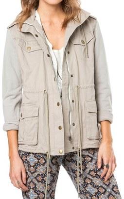 Women's O'Neill 'Zelda' Cotton Anorak $99.50 thestylecure.com