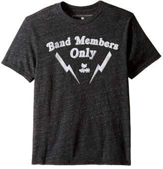 Original Retro Brand The Kids Band Members Only Short Sleeve Tri-Blend Tee Boy's T Shirt