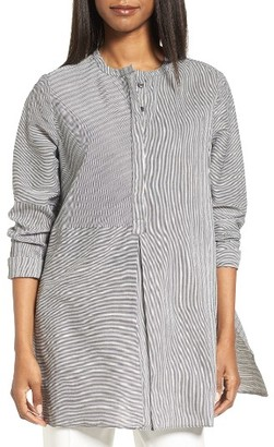 Women's Nordstrom Collection Stripe Tunic $199 thestylecure.com