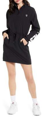 Fila Bijou Long Sleeve Windbreaker Minidress