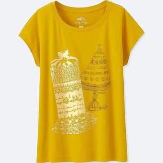 Uniqlo Women's Sprz Ny Short-sleeve Graphic T-Shirt (andy Warhol)