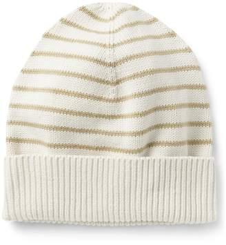 Gap Stripe Beanie in Combed Cotton