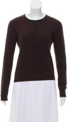 Aqua Rib Knit Sweater