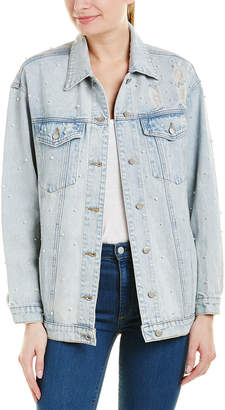 Wild Honey Pearl Denim Jacket