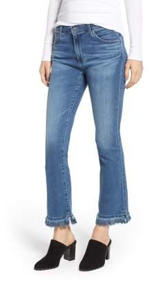 AG Jeans Jodi Crop Fringe Jeans