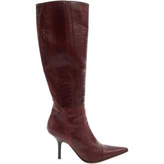 Giuseppe Zanotti Ostrich boots