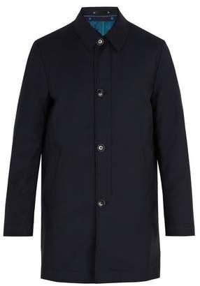 Paul Smith - Detachable Lining Wool Blend Coat - Mens - Navy