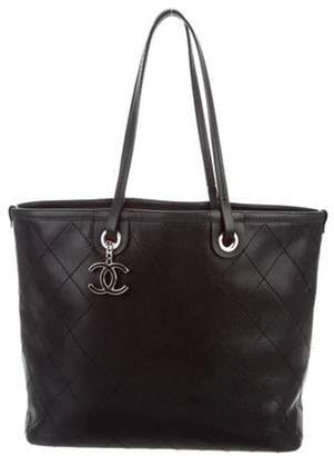 Chanel Large Shopping Fever Tote Black Large Shopping Fever Tote