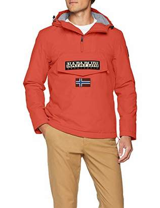 Napapijri Men's Rainforest Winter 1 Jacket (Orange Red A60)