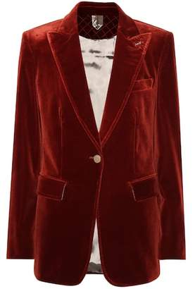 Max Mara Ticino velvet blazer