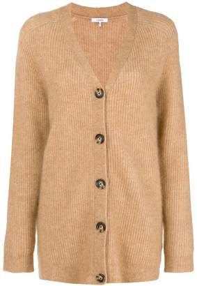 Ganni classic long-sleeve cardigan