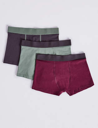Marks and Spencer 5 Pack Cotton with Stretch Trunks (18 Months - 16 Years)
