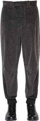 Giorgio Armani 14cm Cotton & Cashmere Corduroy Pants