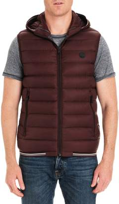 Michael Kors Locke Hooded Quilted Vest