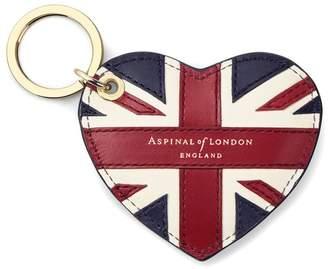 Aspinal of London Brit Heart Keyring