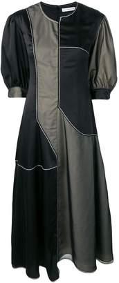 REJINA PYO two tone panel dress