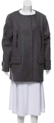 Moncler Euphemia Wool Down Coat