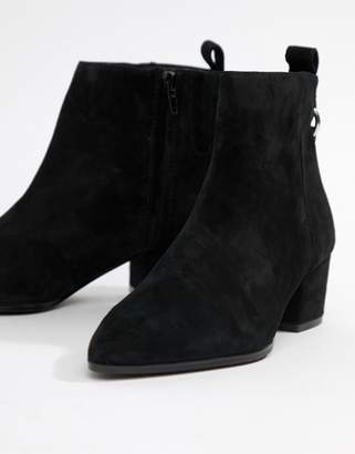 7ad71c1a8 Steve Madden Black Suede Ankle Women's Boots - ShopStyle