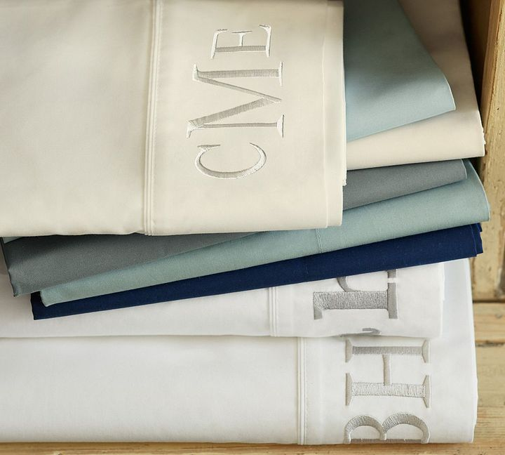 Pottery Barn PB Color 400-Thread-Count Sheet Set