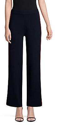 TSE x SFA Women's Side Stripe Knit Cashmere Pants