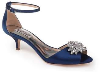 Badgley Mischka Sainte Crystal Embellished Sandal