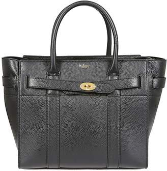 Mulberry Zipped Tote