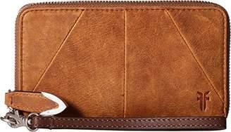 Frye Jacqui Zip Around Phone Wallet