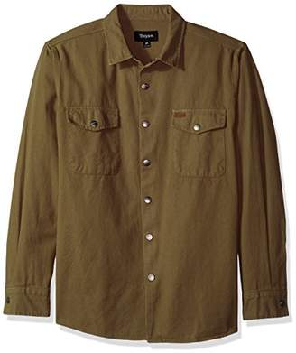 Brixton Men's Nevada Long Sleeve Shirt Jacket