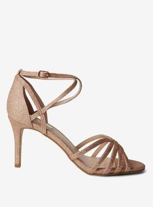 Dorothy Perkins Womens Rose Gold 'Baylee' Sandals