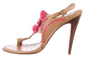 Tory Burch Tanya Leather Sandals