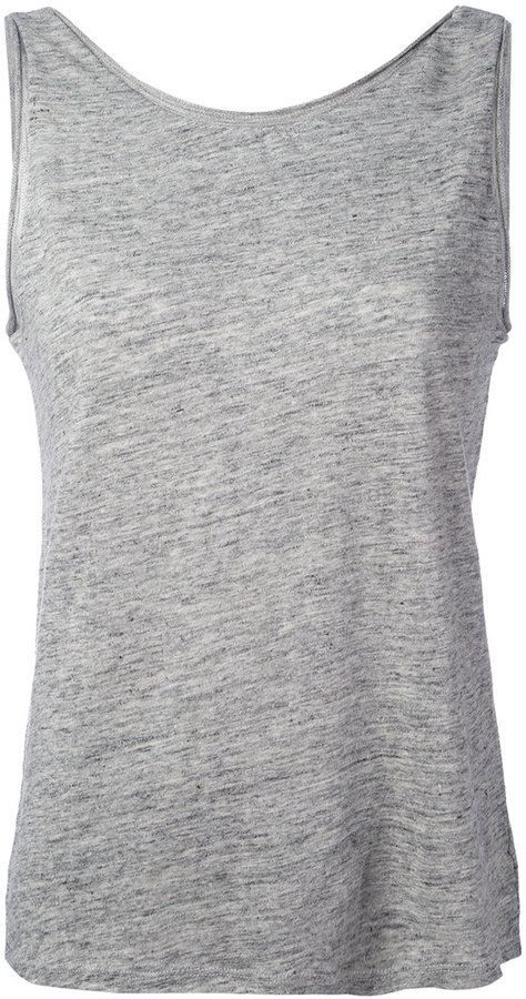 Theory Theory scoop back tank top