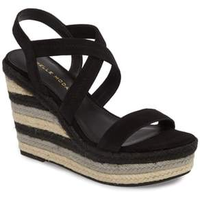 Pelle Moda Raia Espadrille Wedge Sandal