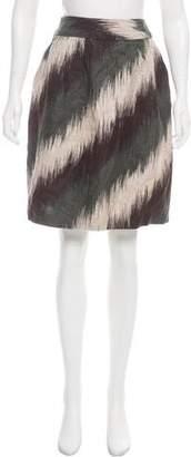 MICHAEL Michael Kors Linen Knee-Length Skirt