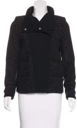 IRO Woven Snap Jacket
