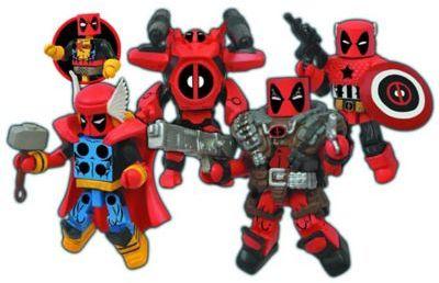 Marvel® Minimates Deadpool Assemble Box Set